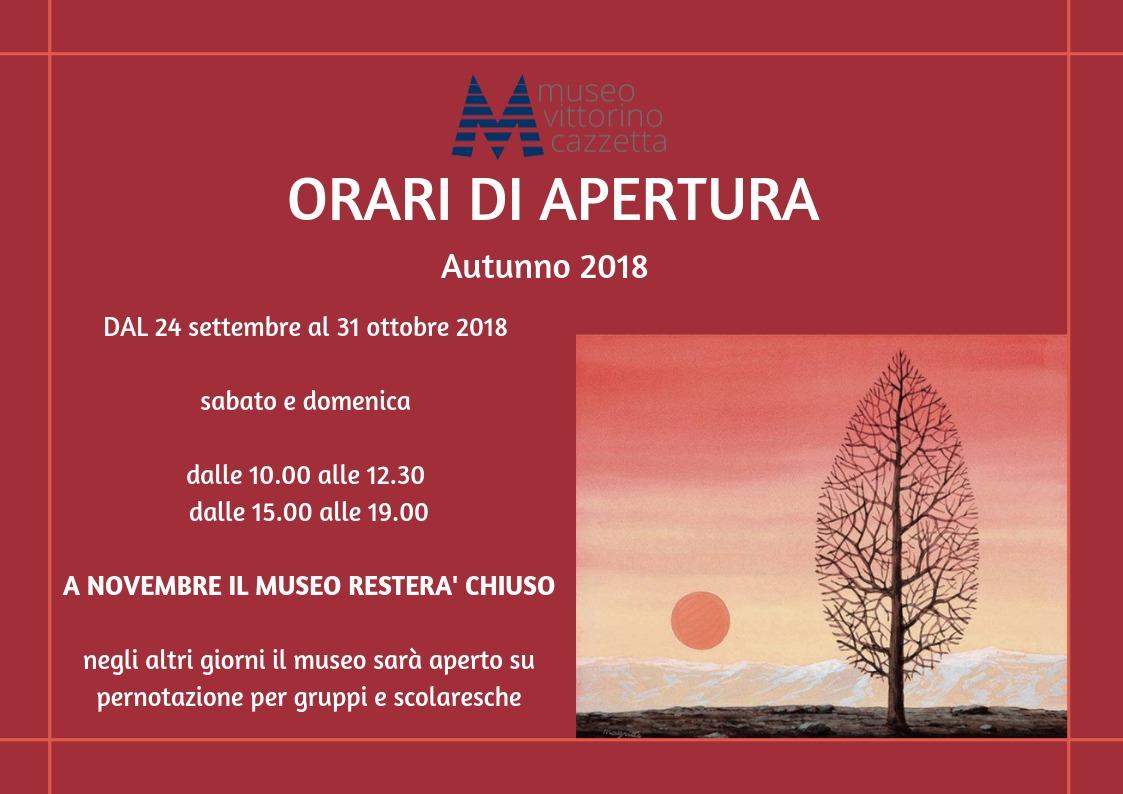 orari autunno 2018